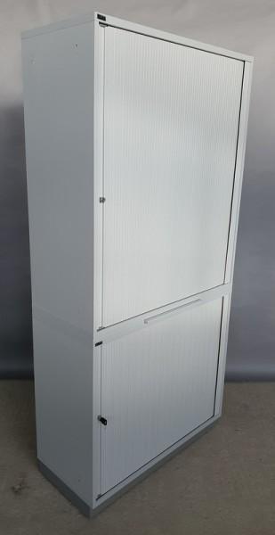 CEKA - Querrolloschrank 5 OH, B 100 cm grau