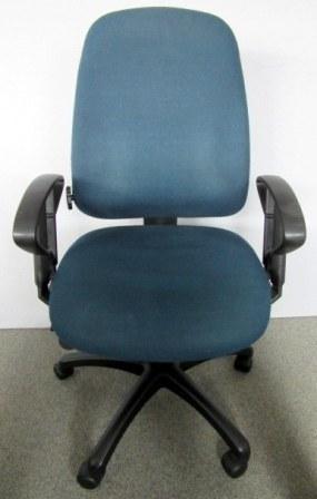 Zeitler - Bürodrehstuhl petrolblau