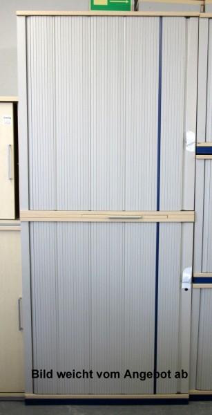 Werndl - Querrolloschrank 5 OH, B 80 cm ahorn
