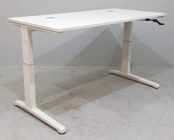 Steelcase - Schreibtisch 160 cm HV, weiß
