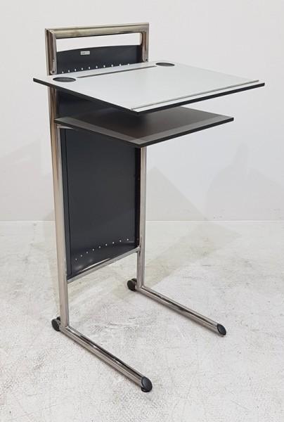 Mauser Office - Stehpult grau / schwarz
