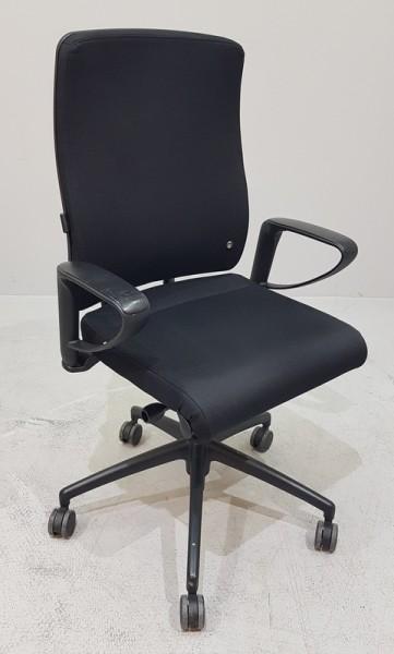 Interstuhl YOS / Y152- Bürodrehstuhl schwarz