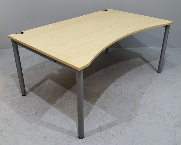 SM - Ergo - Schreibtisch B 160 cm HV, ahorn