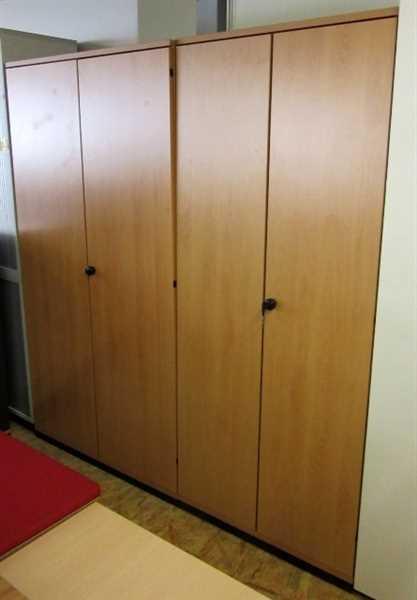 Werndl - Akten-Kleiderschrank 5 OH, B 100 cm buche