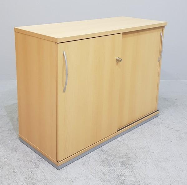 K & N - Schiebetürenschrank 2 OH, B 100 cm buche