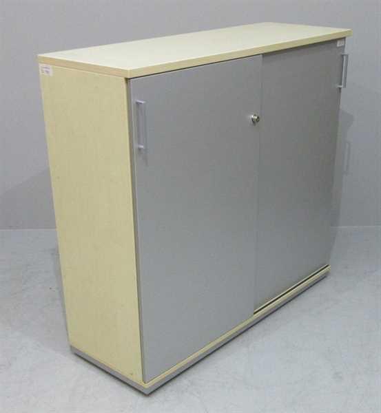 K & N - Schiebetürenschrank 3 OH, B 120 cm ahorn