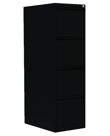 Stahl- Hängeregister- Schrank, 4- Schub einbahnig