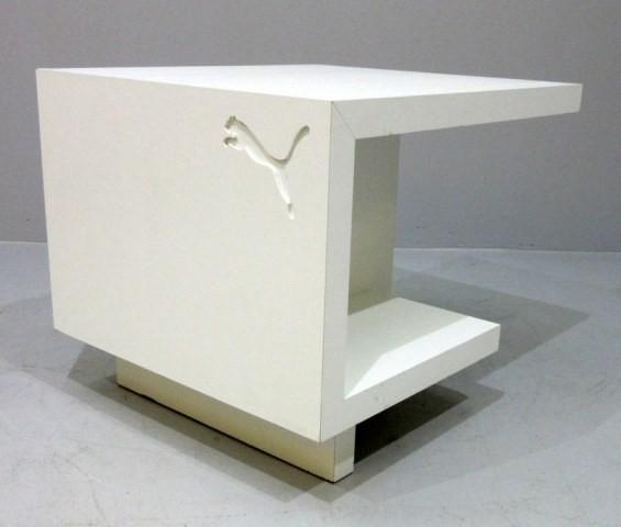 Beistelltisch Puma 75 x 65cm, Esche weiß