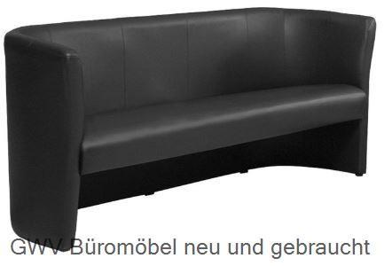Club - Trio 3- Sitzer- Lounge- Sofa | Besucherstuhl neu | Bürostuhl ...