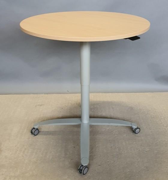 CEKA - Steh-Sitz- Besprechungstisch D 100 cm buche