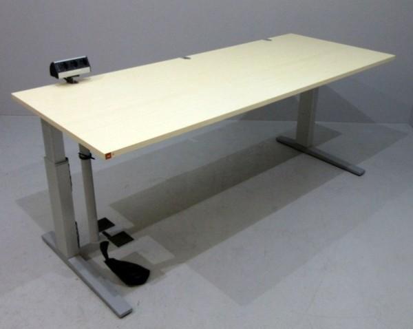 Bene - Schreibtisch 200 cm, ahorn