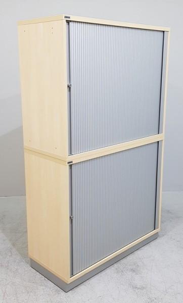 CEKA - Querrolloschrank 4 OH, B 100 cm ahorn