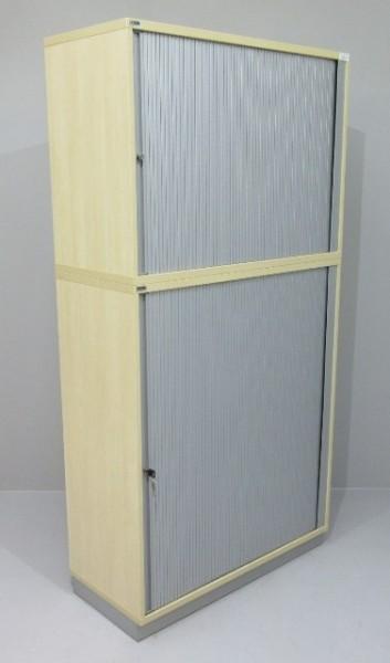 CEKA - Querrolloschrank 5 OH, B 100 cm ahorn