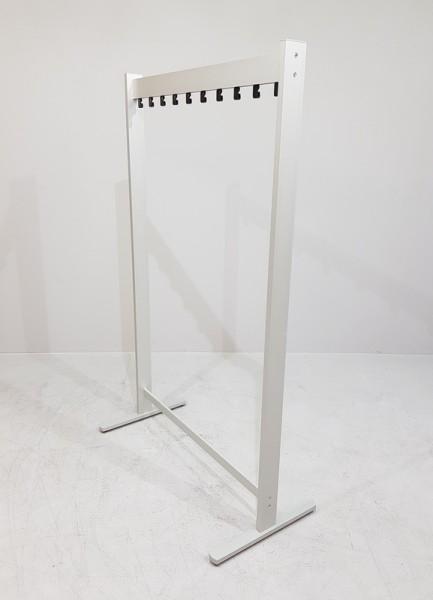 Reihenkleiderständer Aluminium