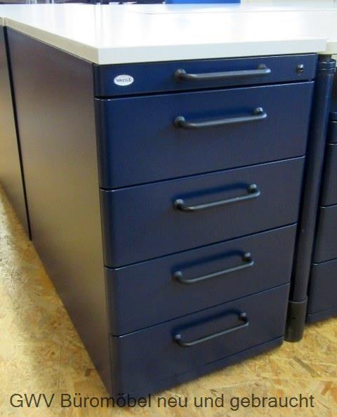 standcontainer anstellcontainer werndl schwarz blau dunkelblau ...
