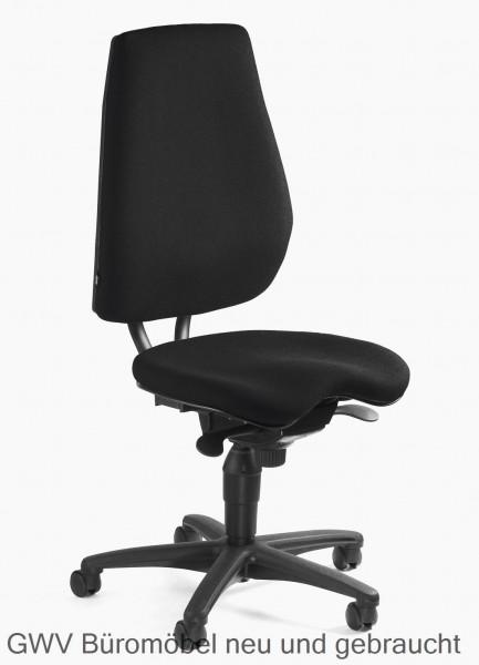 Bürodrehstuhl schwarz