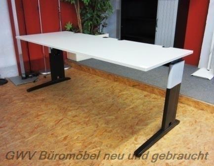 RTR - Schreibtisch 200 cm, grau