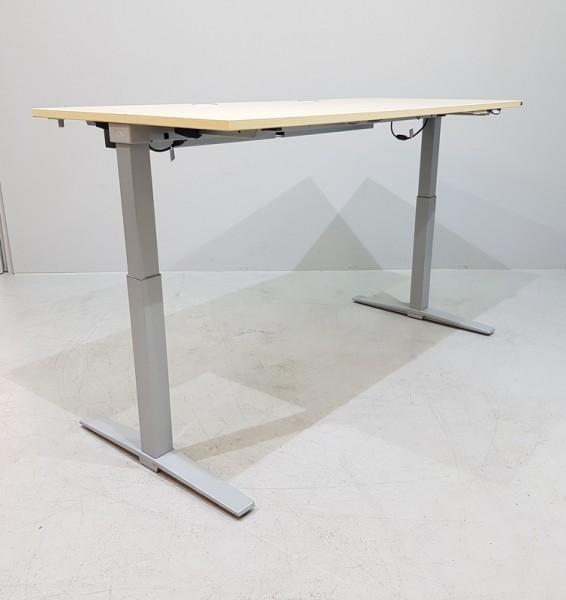 K & N - Steh- Sitz- Schreibtisch 200 cm, ahorn Talo.S