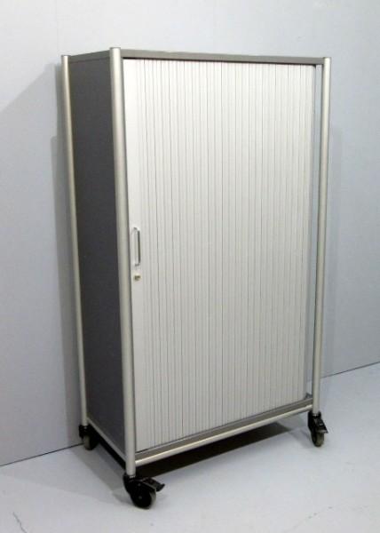 VS - Querrolloschrank 4 OH, B 92 cm grau