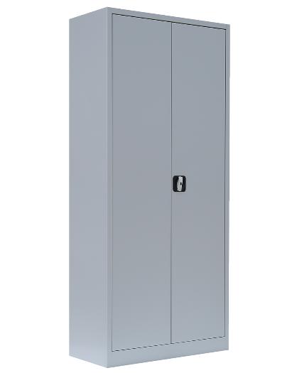 Stahl- Akten- Schrank 4,5 OH, B 80 cm lichtgrau
